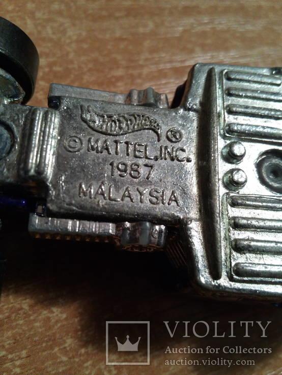 Машинка малазія метал, фото №3