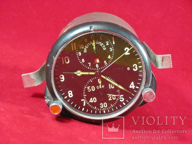 Часы авиационные хронограф АЧС-1