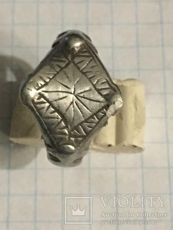 Серебряный перстень 14 век орда