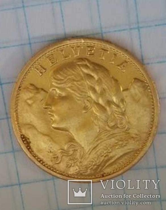 20 швейцарских франков 1897, фото №6