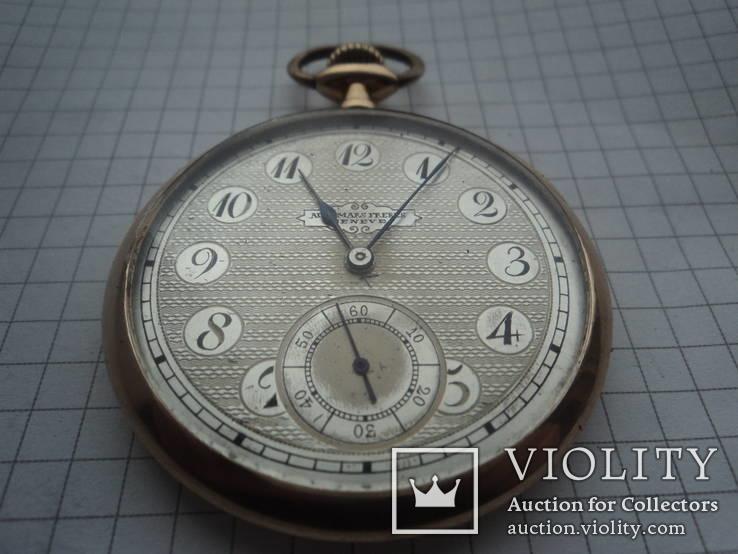 Часы карманные Швейцария 1900 г. золото 56 пробы на ходу