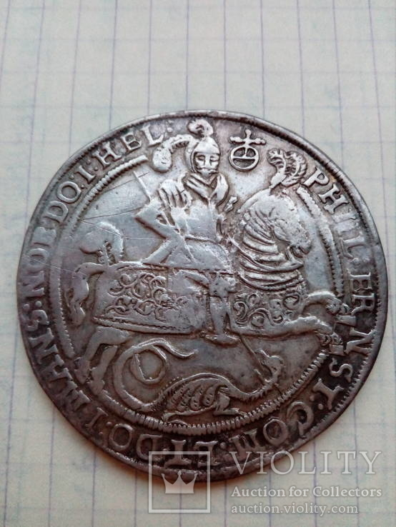 Талер Мансфельд - Артерн 1619 г
