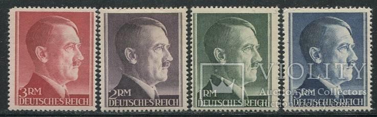 1942 Рейх  полная серия гитлер тип А