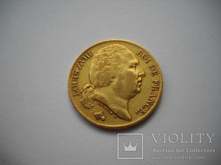 20 франков 1818