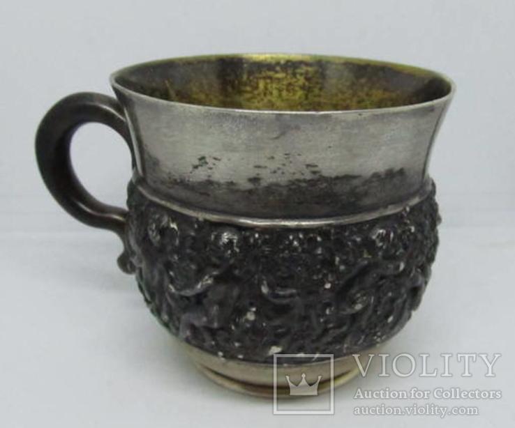 Кружка Чашка Tiffany. Серебро. 1891-1902гг