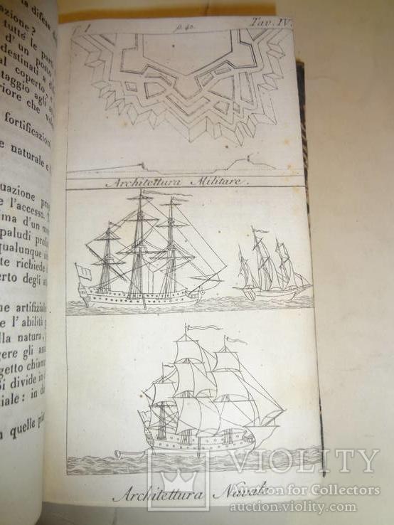 1833 Архитектура Итальянская Энциклопедия всех наук