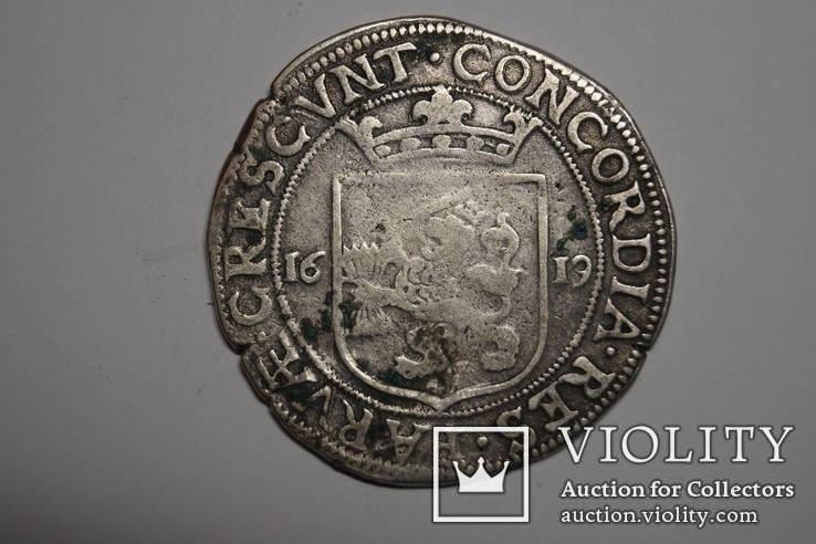 Талер 1619 г. Нидерланды.