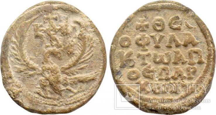 Крупная Византийская печать