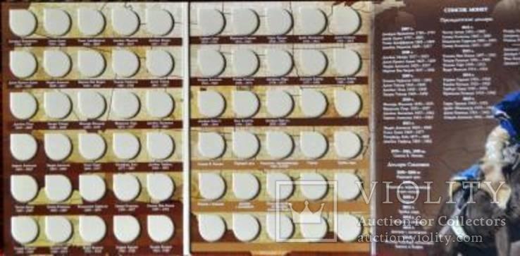Альбом для для монет США 1 доллар Президенты и Сакагавея, фото №4