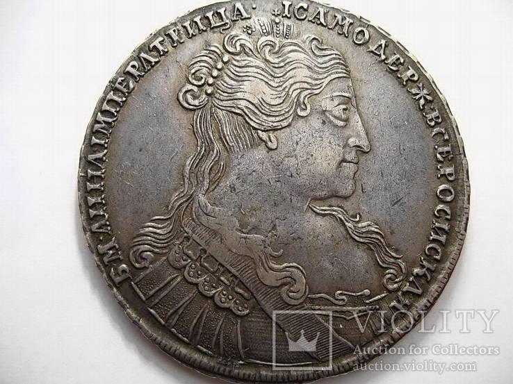 Рубль 1734 г. (Переходной тип)