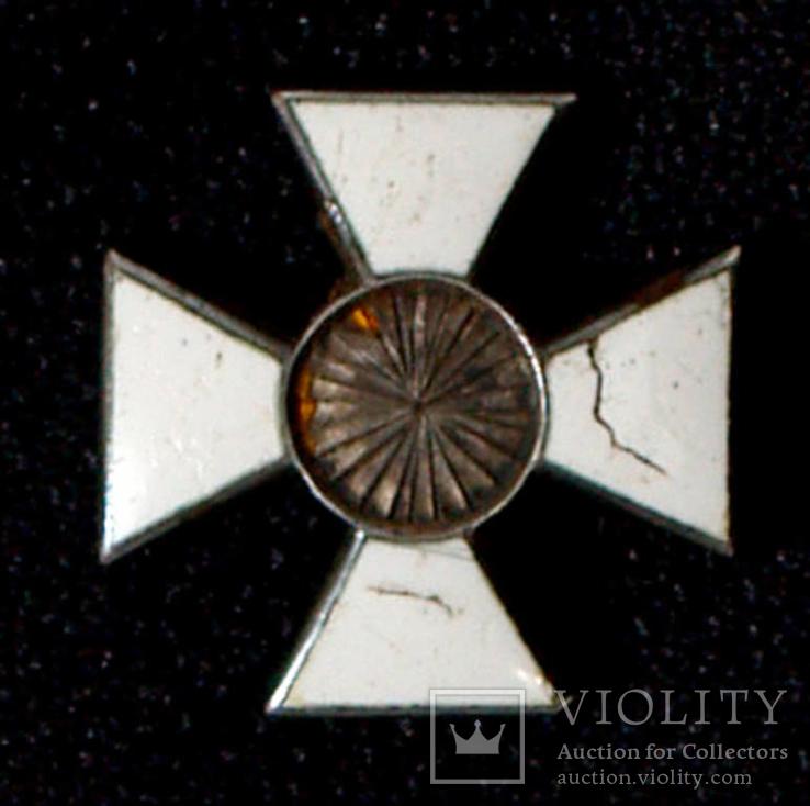Георгиевский крест на наградное оружие