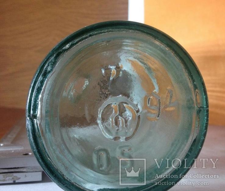 Светлая бутылка 0.5 уксусная 1994, фото №2