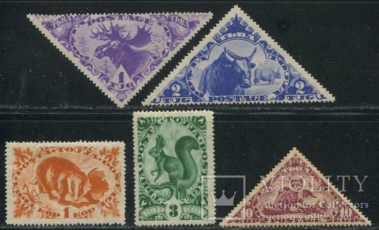 1935 Фауна Тувы Тува