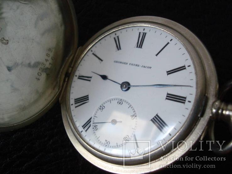 Сеебряные Часы Georges Favre-Jacot (ZENIT)