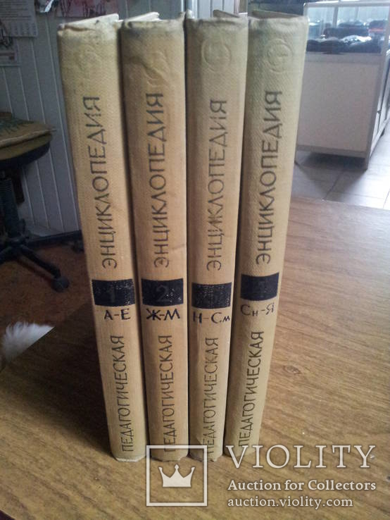 Педагогическая энциклопедия 4 тома 1965-1968гг, фото №2