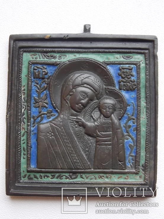 Икона - Казанская Богородица-