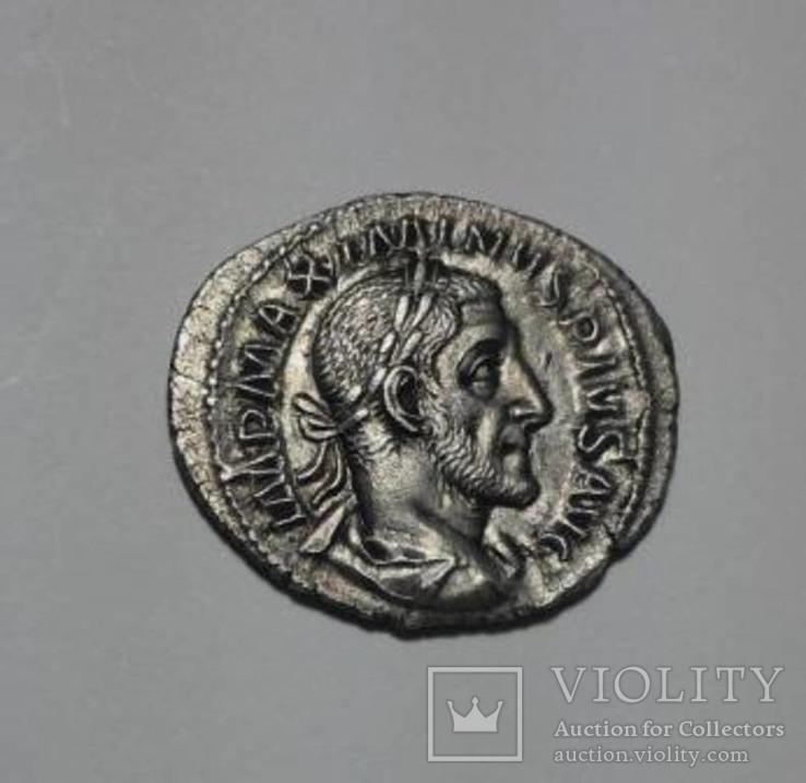 Максимин I Фракиец,денарий