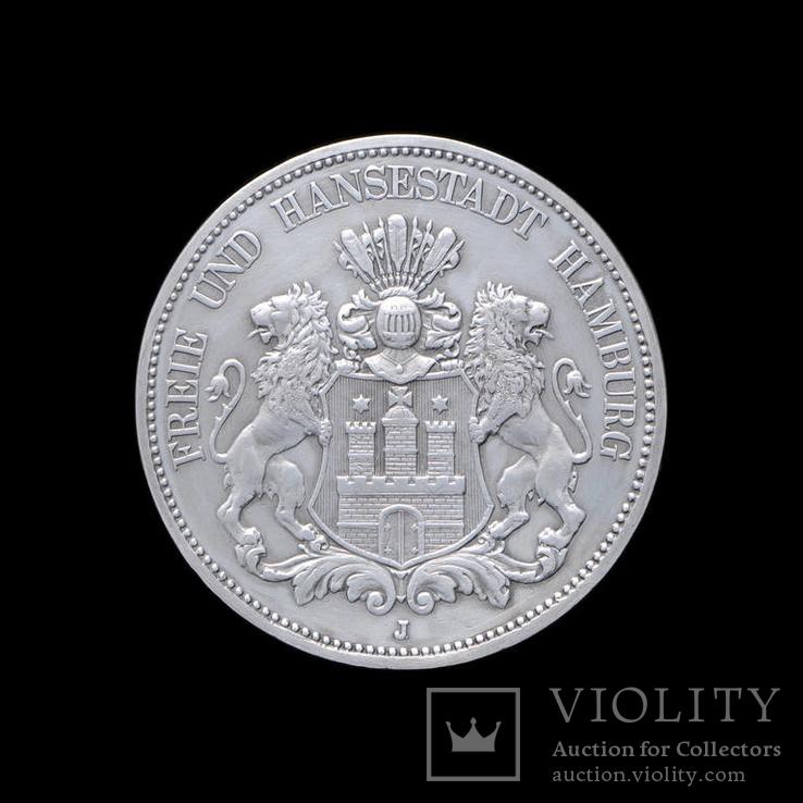 5 Марок 1875, Вольный Город Гамбург