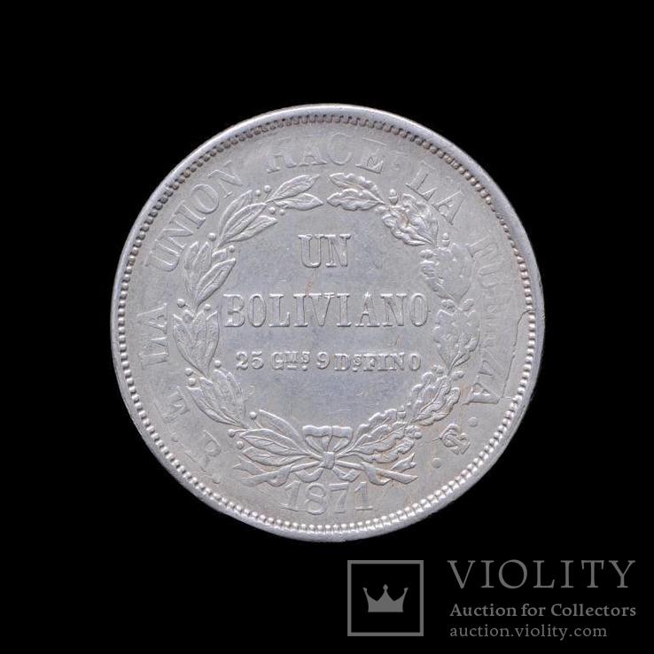 1 Боливано 1871, Боливия