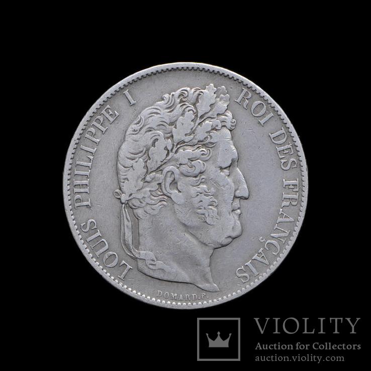 5 Франков 1846 А Луи Филипп, Франция
