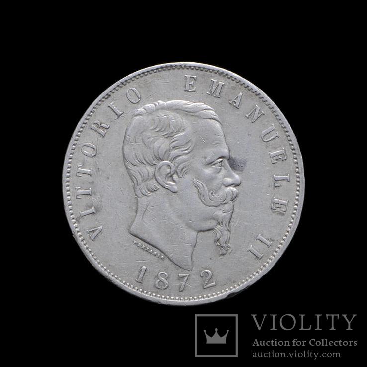 5 Лир 1872 Витторио Эмануил ІІІ, Италия