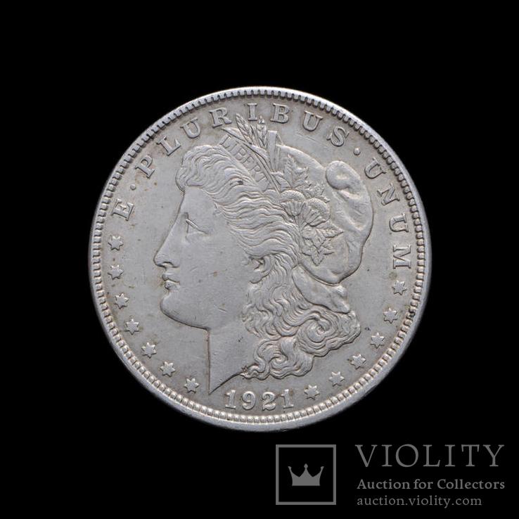 1 Доллар 1921 Могран, США