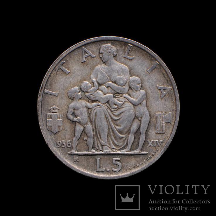 5 Лир 1936, Италия