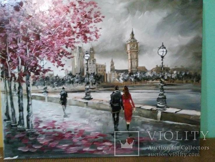 Лондон .Городской пейзаж