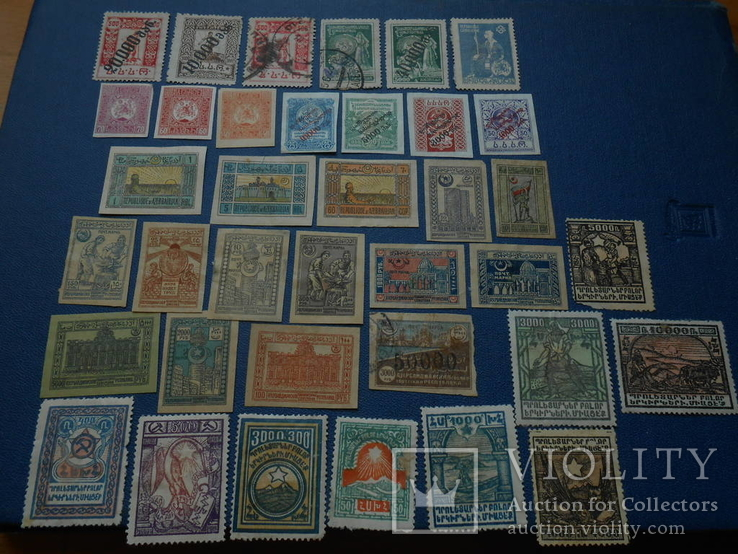 Почтовые марки Азербайджана 1919-1921
