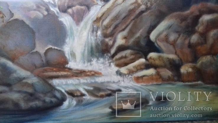 Картіна водопад, фото №3