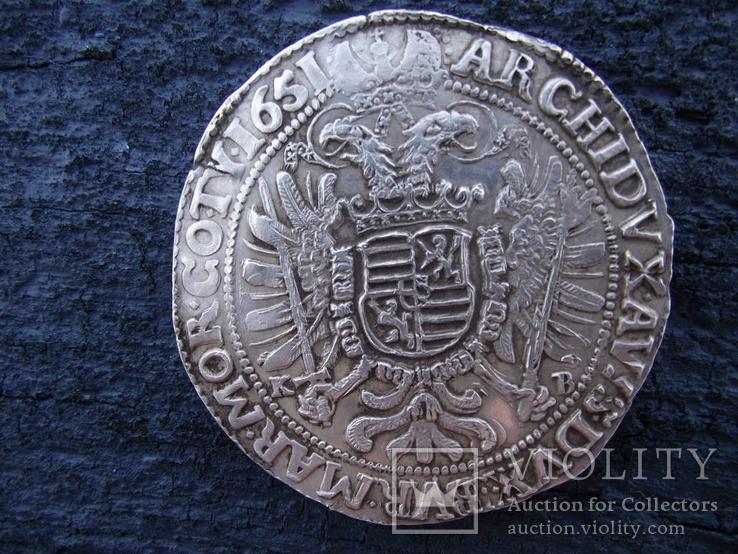 Талер Фединанд 1651 КВ.