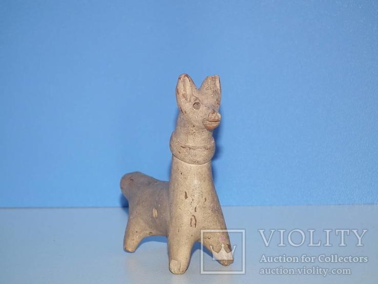 Свистулька 18-19 век.Собака., фото №2