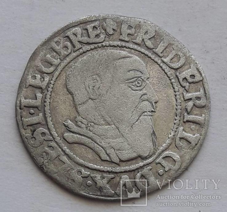 Грош Фридриха 1543 г.