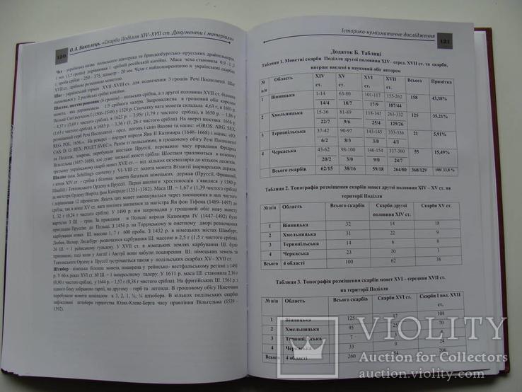 Скарби Поділля XIV - середини XVII ст. Документи і матеріали. О. А. Бакалець., фото №7