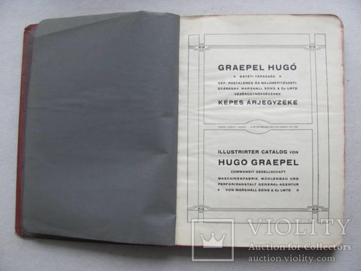 Graepel Hugo betéti tarsasag Budapest 1929, фото №3