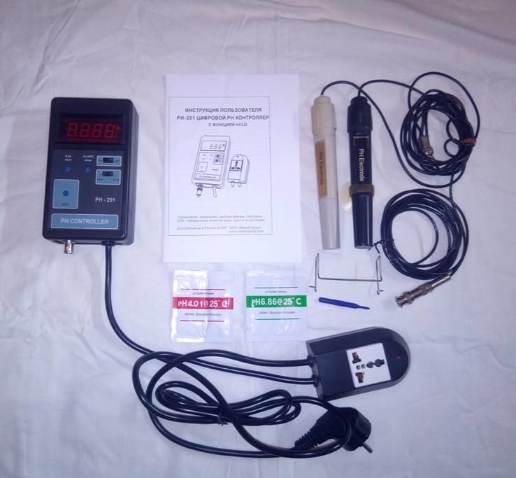 PH-201 Цифровой PH Контроллер с функцией H I/LO