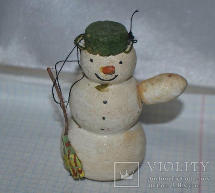 Снеговик без руки