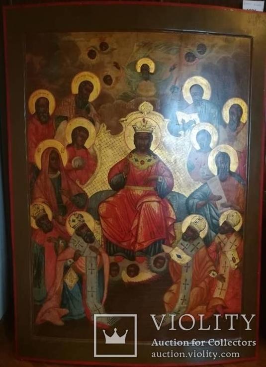 """Монументальна ікона""""Цар Слави-Деісус""""."""