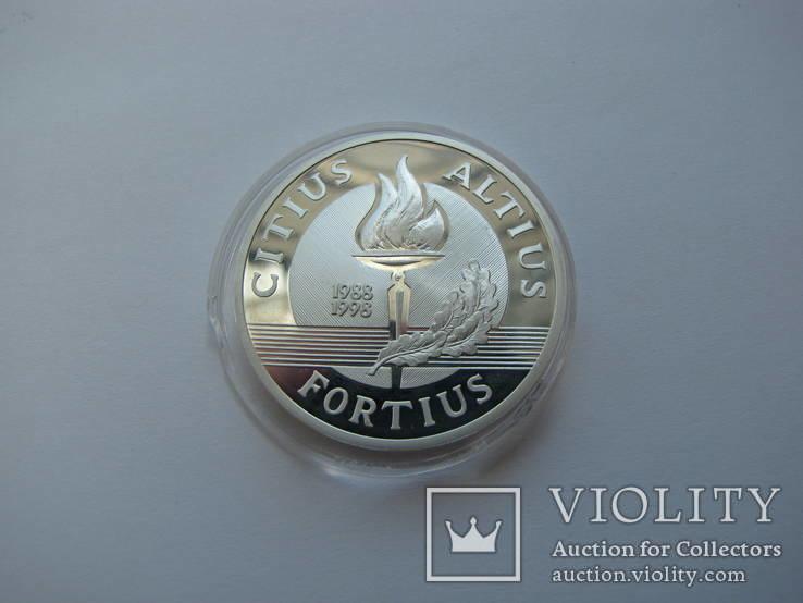 Литва медаль серебро 1998 год олимпиада, фото №3