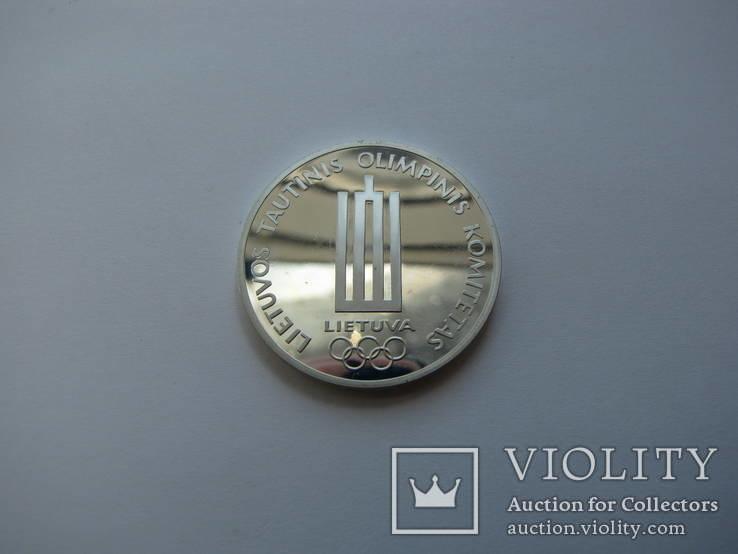Литва медаль серебро 1998 год олимпиада, фото №4