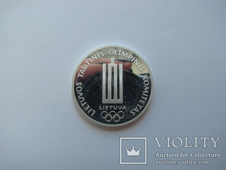 Литва медаль серебро 1998 год олимпиада, фото №5