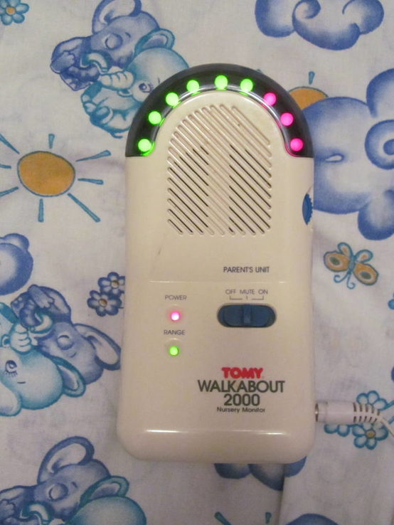 TOMY Walkabout 2000 Nursery Baby Monitor, фото №5