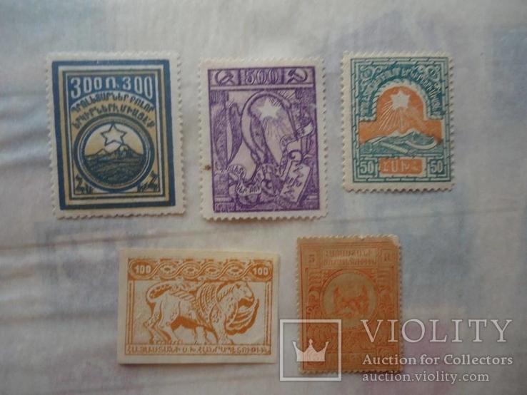 Гражданская война 5 марок Армении 1919-20 гг