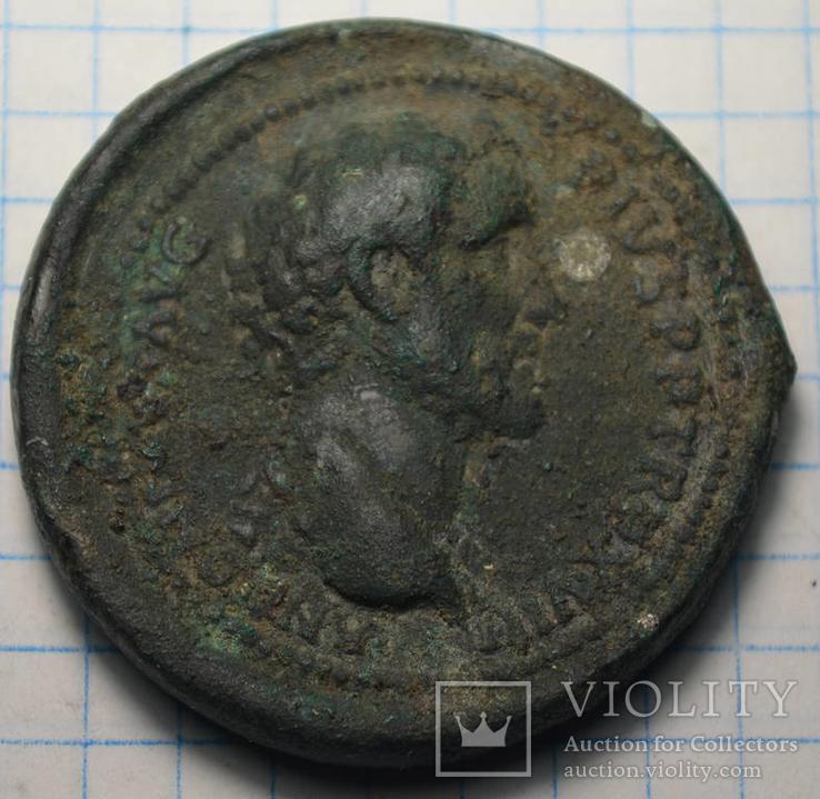Антоний пий медальон или двойной систерций судя по весу