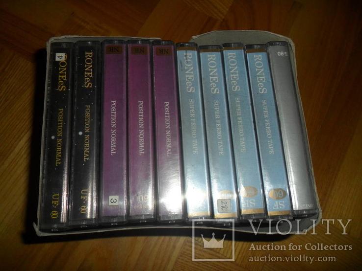 Аудиокассета кассета 10 шт в лоте RONEeS, фото №4