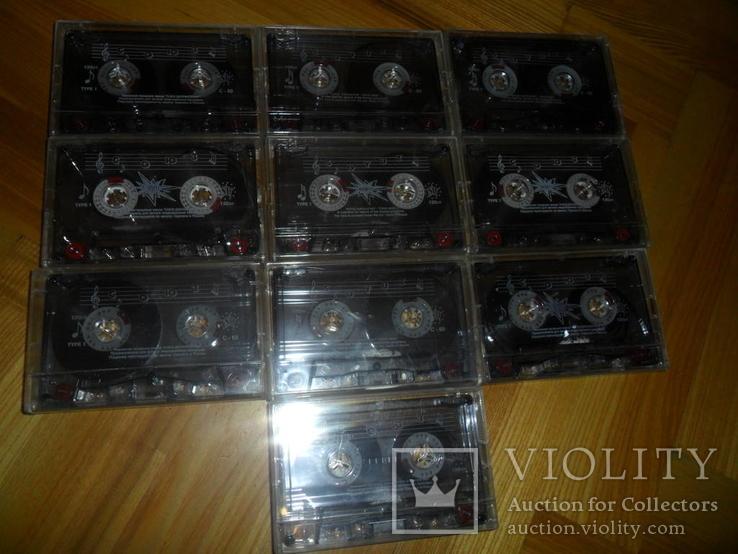 Аудиокассета кассета Союз С60 - 10 шт в лоте, фото №2