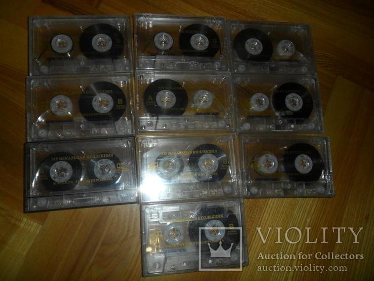 Аудиокассета кассета SAEHAN C60 и С90 - 10 шт в лоте музыкальная коллекция, фото №2