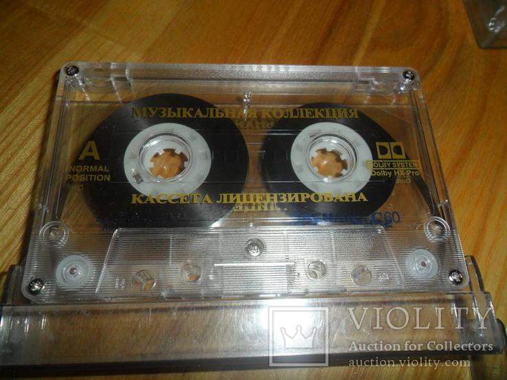 Аудиокассета кассета SAEHAN C60 и С90 - 10 шт в лоте музыкальная коллекция, фото №5