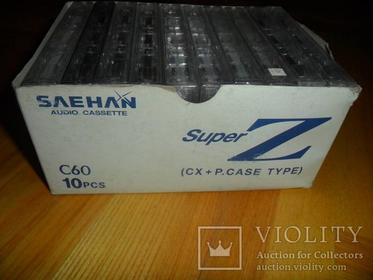 Аудиокассета кассета SAEHAN C60 и С90 - 10 шт в лоте музыкальная коллекция, фото №7