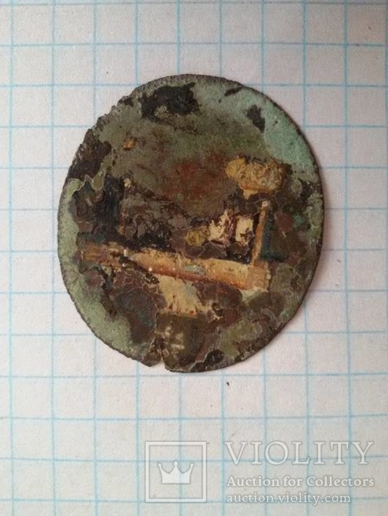 Икона на металле, фото №5